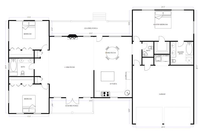 cad floorplan