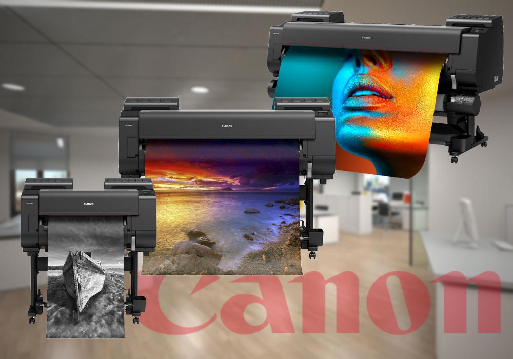 Canon Drucker Übersicht