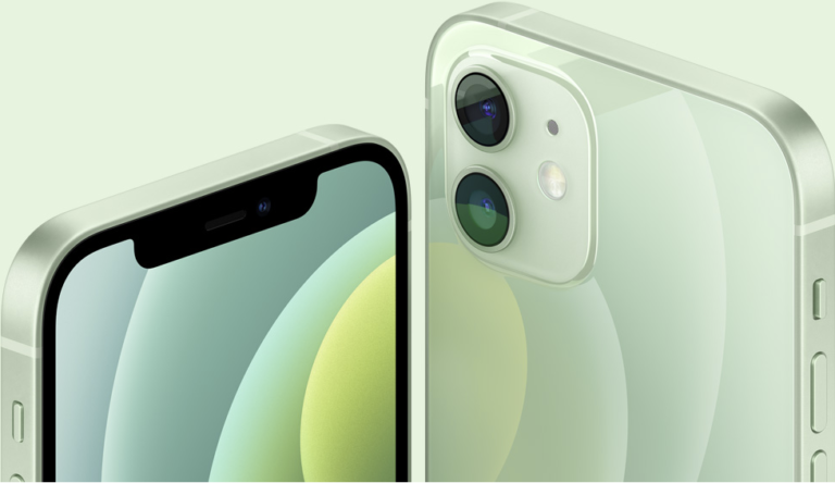 iPhone 12 mint green
