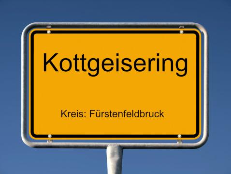 Ortsschild Kottgeisering 1